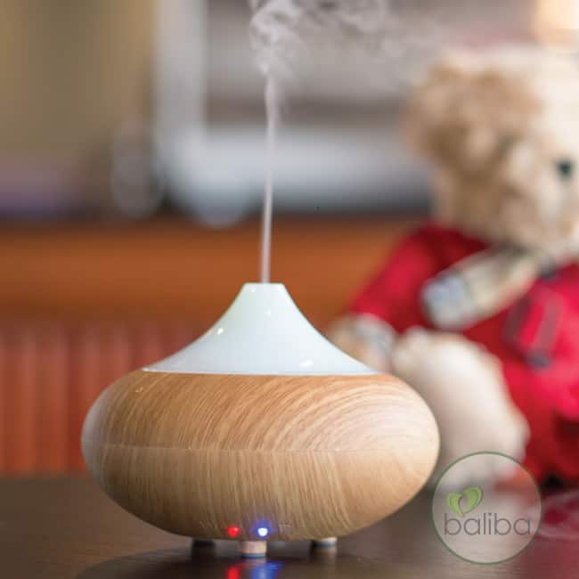 essential oil diffuser nz - bamboo look