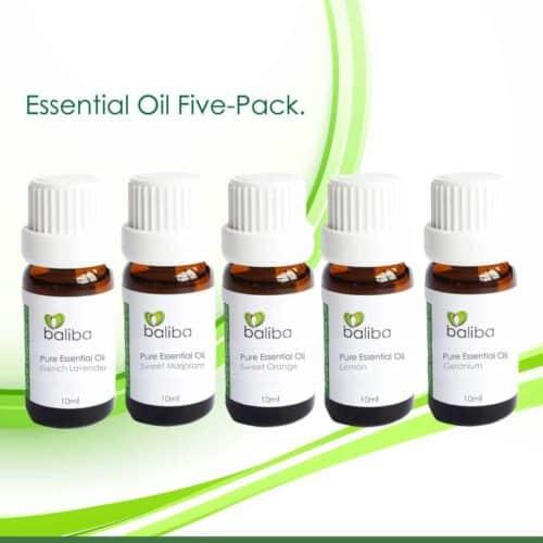 essential oils 5 pack