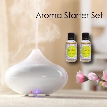 essential oil diffuser and aroma oils