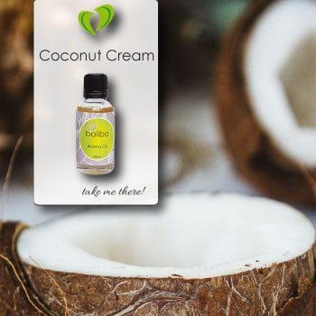 Coconut Cream Aroma Oil Bottle