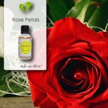 Rose Petals Aroma Oil - from Baliba