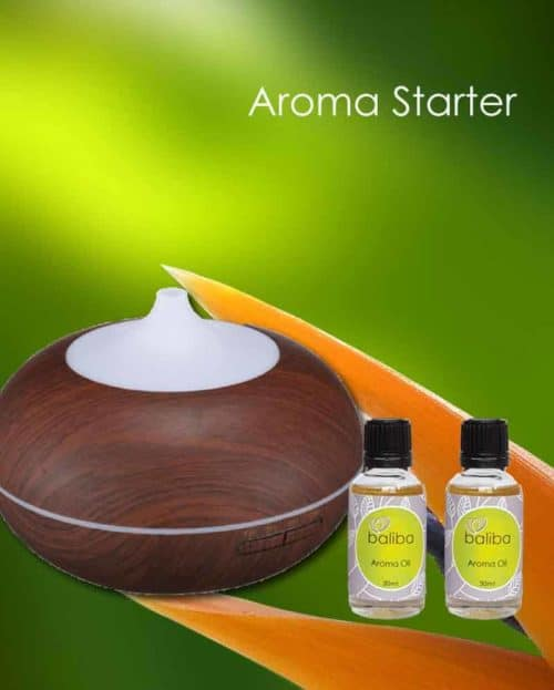 essential oil diffuser and aroma oil set