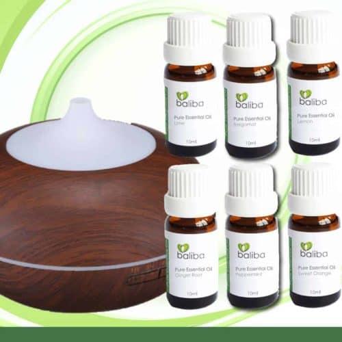 essential oil detox set