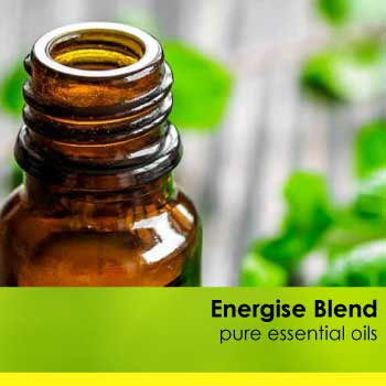 essential oil blend to boost energy and focus