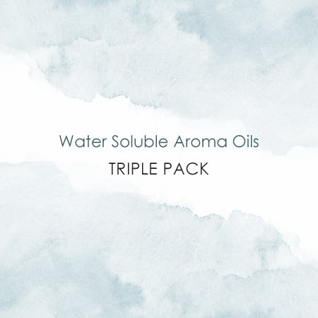 water soluble aroma oils triple pack