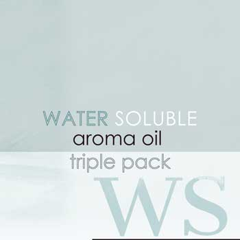 Water Soluble Aroma Oil Triple Pack