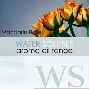 water soluble aroma oil mandarin rose