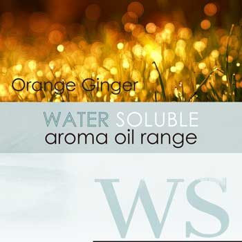 water soluble aroma oil orange ginger