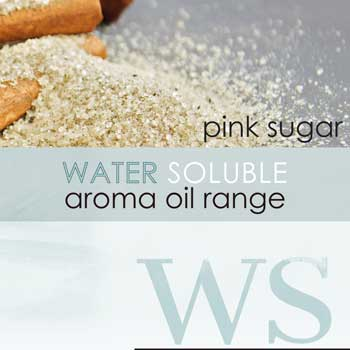 water soluble aroma oil pink sugar