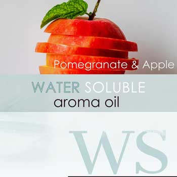 water soluble scent pomegranate and apple