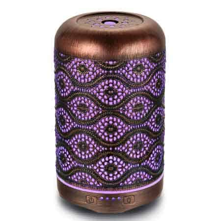 metal essential oil diffuser copper